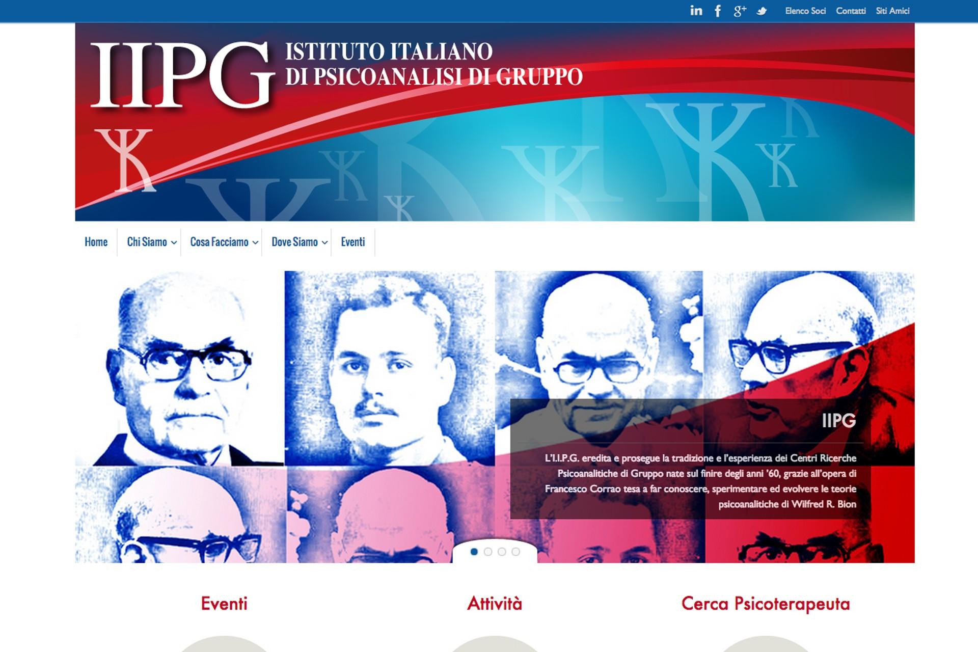 Istituto italiano di psicanalisi di gruppo sp for Istituto italiano